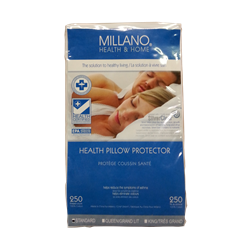 MILANO PILLOW CASE COVER TWIN (STANDARD) 20 X 26
