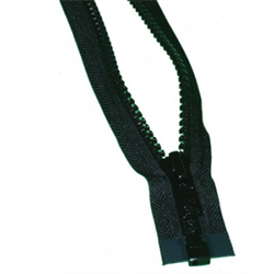 BBG NET ZIPPER BLACK 1 FT