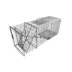 TOMAHAWK 108 RACCOON TRAP WITH ONE DOOR 32 x 10 x 12