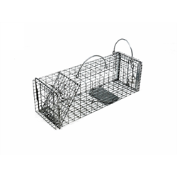 TOMAHAWK 602 CHIPMUNK/RAT TRAP WITH EASY RELEASE DOOR 16 x 5 x 5