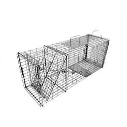 TOMAHAWK 608 RACCOON TRAP WITH EASY RELEASE DOOR 32 x 10 x 12