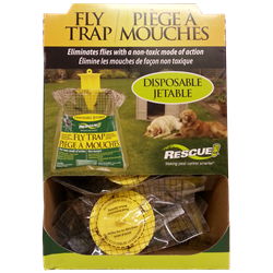 RESCUE SMALL FLY BAG TRAPS 12/CASE